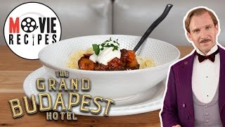 The Grand Budapest Hotel - Movie Recipes