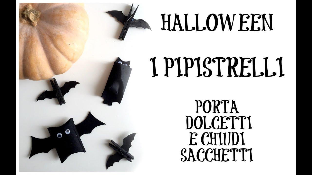 Pipistrelli porta-dolcetti e chiudi-sacchetti ★ VIDEOTUTORIAL