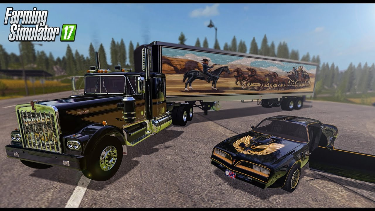 John Deere Utv >> Smokey and the Bandit Set mod Farming Simulator 17