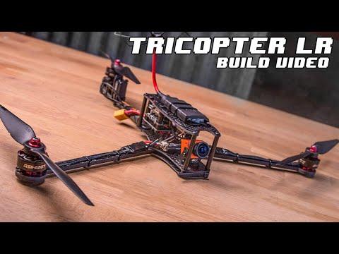 tricopter-lr--long-range-fpv-1h-flight-time-foldable-multirotor--build-video