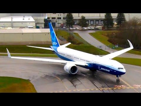Let aviona Boeing 777X