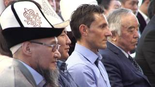 Выступление Президента КР на церемонии вручения госнаград
