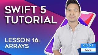 (2020) Swift Tutorial for Beginners: Lesson 16 Arrays