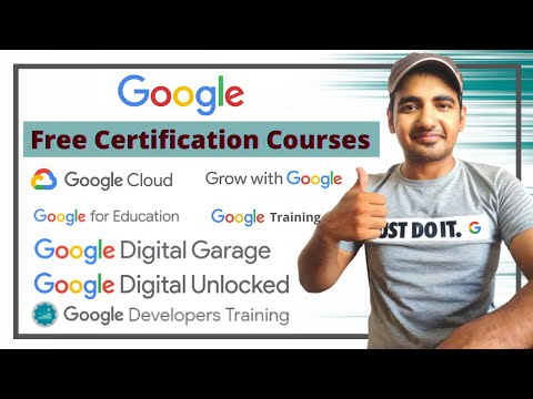 Free Google Certification Courses 2020 | Thousands of Free Online ...