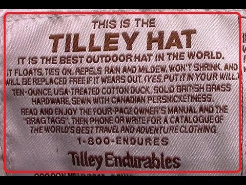 Tilley Hats  – The World's Best Outdoor Hat