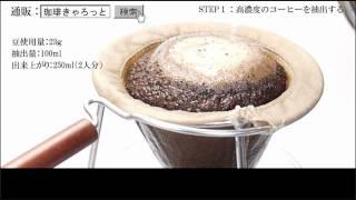 おいしいコーヒーの入れ方(応用編)
