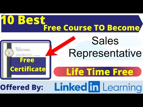 Best 8 Free Certification Courses To Become a Sales ... - YouTube