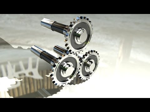 Maya tutorial : How to model Gears in Maya