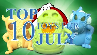 TTPM Top 10 Toys in July 2016