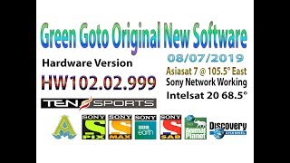 new auto roll powervu key software for green goto receivers - Free