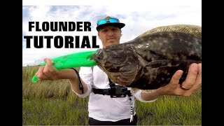 How to Catch Flounder - Flounder Fishing Tips for live bait and lures