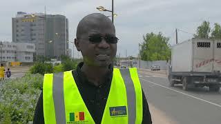 Réalisations infrastructurelles faites par Ageroute Sénégal: voiries mosquée Massalikoul Djinane