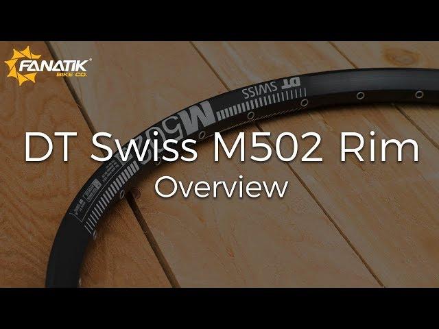 Видео Обод DT Swiss M 502 29x30 DISK BRAKE 28
