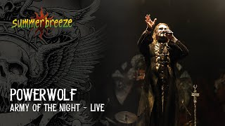 Powerwolf - Army Of The Night (LIVE @ Summer Breeze Open Air 2015)