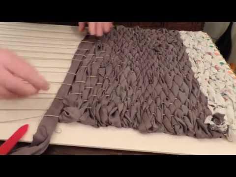 Riciclare  vecchie lenzuola con un facilissimo telaio fai da te