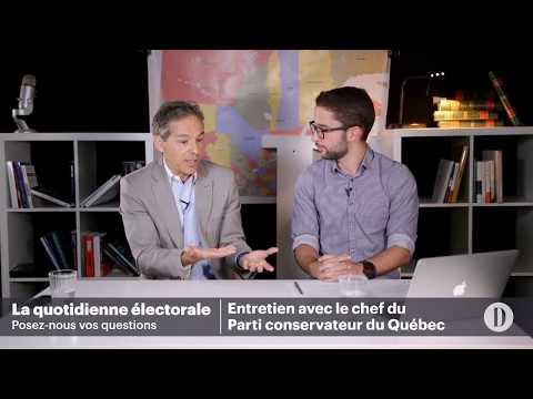 La quotidienne électorale: le Parti conservateur du Québec