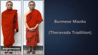 Buddhist Monks Around The World