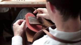 Ручное шитье кожи: наглядная демонстрация