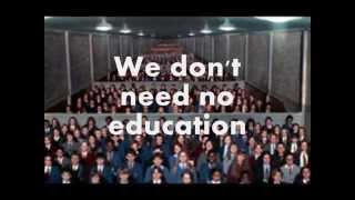 Pink Floyd-Another Brick In The Wall Part 1 and 2- Lyrics