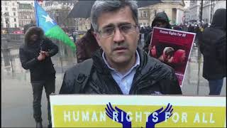 Hassan Dost Baloch speech during awareness campaign