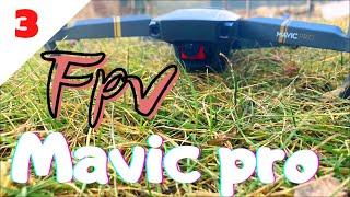 Fpv mavic / djı mavic pro / fpv drone / mavic usta / dünyada ilk