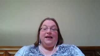 Amanda reads amazon reviews.