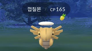 토중몬  - (포켓몬스터) - 포켓몬고(Pokemon Go) 껍질몬 포획 영상