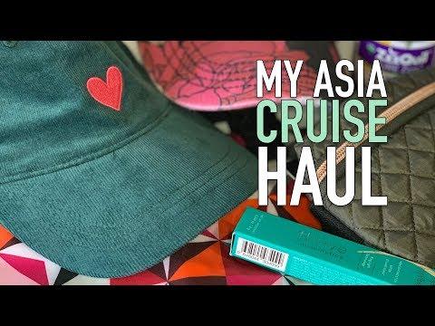 My Asia Cruise Haul – Livestream