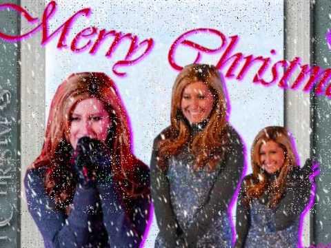 Ashley Tisdale- Last Christmas With Lyrics On Screen [HQ]
