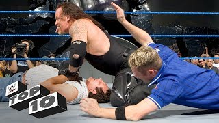 Superstars beat up rival's parents: WWE Top 10