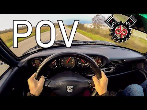 Porsche 993 Carrera 1994   POV Drive & Sound   3.6 272cv