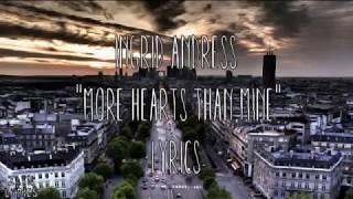 "Ingrid Andress   ""More Hearts Than Mine"" (Lyrics)"