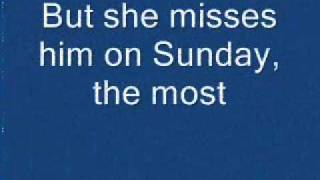 Diamond Rio - She Misses Him On Sunday The Most (lyrics)