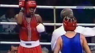 Бокс Флойд Майвезер- Артур Геворкян  Олимпиада 1996 -57 кг