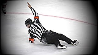 BEST NHL Bloopers of 2017-18 Season - Regular Season So Far- Bloopers, Fails, and Funny Moments.