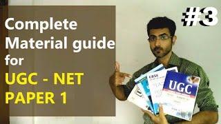 Books for NET Paper 1 - UGC CBSE NET JRF Material