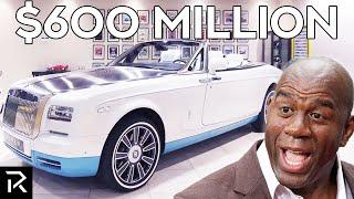 How Magic Johnson Spends $600 Million Dollars
