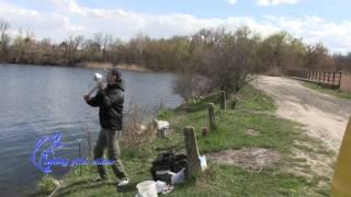 Рыбалка весной, весенний карась на дальний заброс, карась ранней весной
