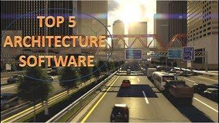 Top 5 ARCHITECTURE RENDERING SOFTWARE (3D Design)