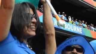Indian National Anthem Jana Gana Mana being sung during ICC