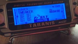 Basic FrSky Taranis Telemetry : A1 and A2 Voltage and