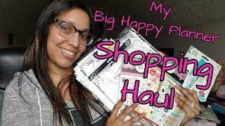 My Big Happy Planner Shopping Haul • Hobby Lobby & Michael's *Part 1 | TheMrsTee