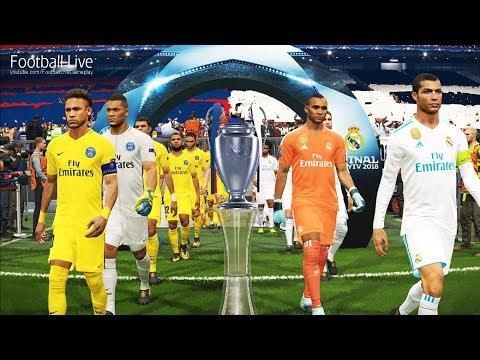 PES 2018   Real Madrid vs PSG   Penalty Shootout   Final UEFA Champions League UCL