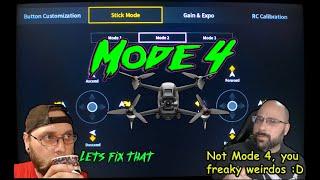 DJI FPV Drone Mode 4 - The first DJI FPV Transmitter ????Teardown and Modification????
