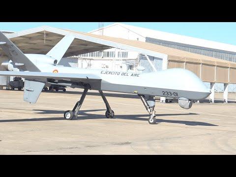 Así es el dron Predator B que ha adquirido España