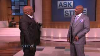 Ask Steve: My twin brother || STEVE HARVEY