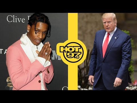 Could Donald Trump Be Trying To Use A$AP Rocky?