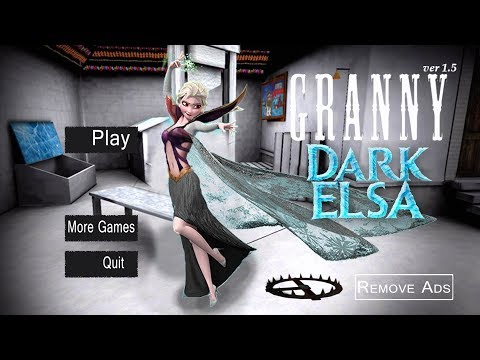 WHAT IF GRANNY WAS ELSA? | Granny (Horror Game) (видео)