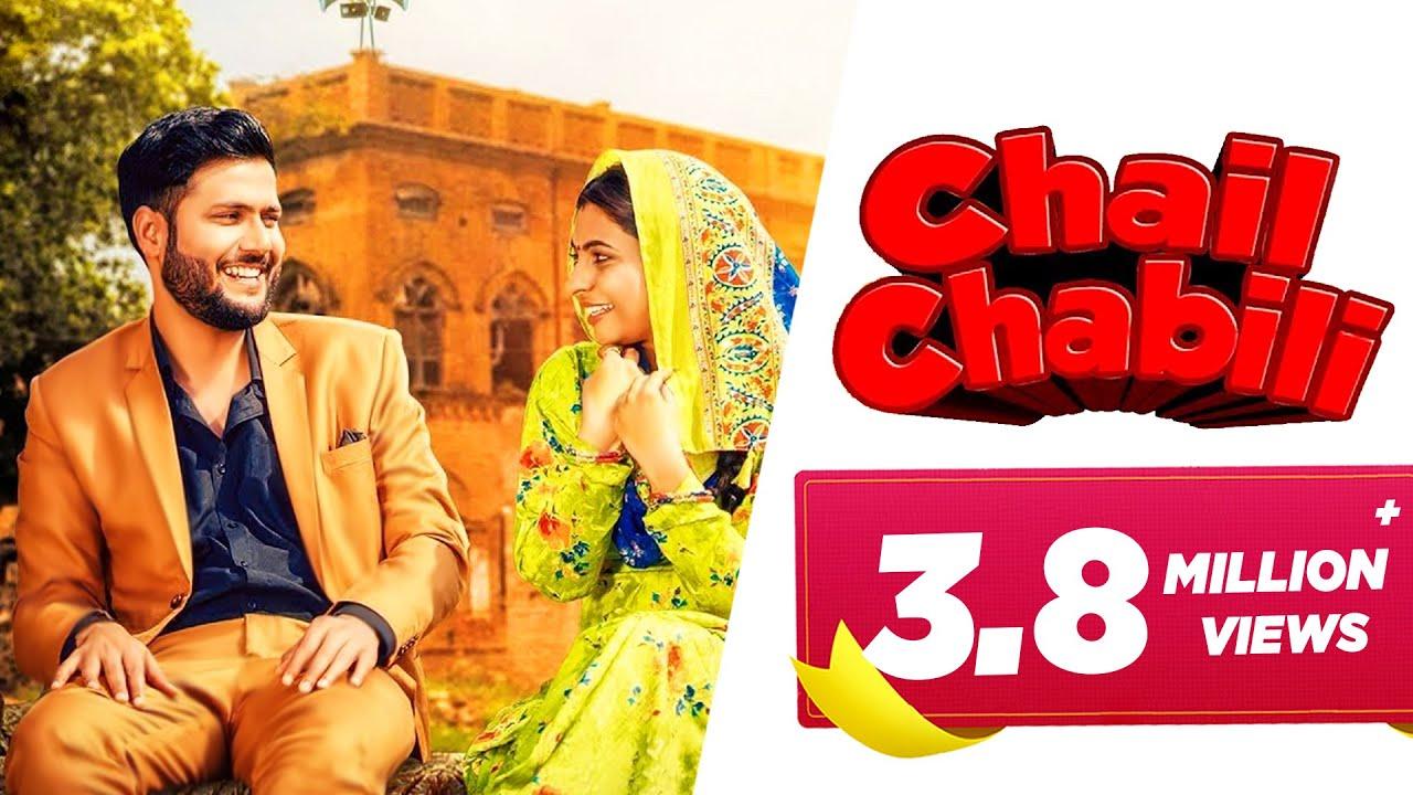 Chail Chabili Lyrics - AK Jatti , Vishwash Chauhan
