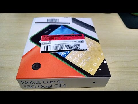 Unboxing Nokia Lumia 530 Dual SIM - Windows Phone 8.1